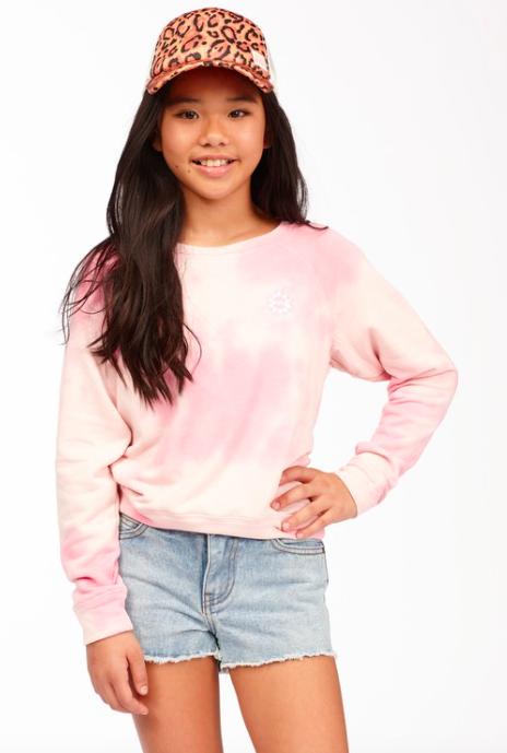 BillaBong Girls' With My Crew Sweatshirt
