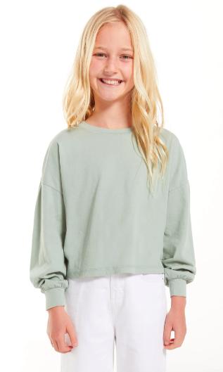 Z Supply Girls Zuri Organic Pullover