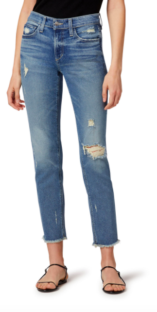 Joes Jeans Lara Mid Rise Cigarette Ankle