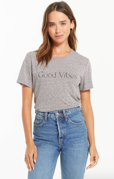 Z Supply Good Vibes Easy Tee