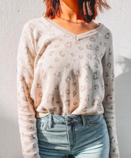Z Supply Cassie Animal Sweater