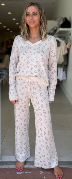 Z Supply Melody Animal Sweater Pant