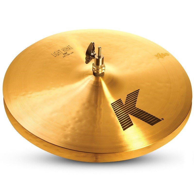 Zildjian 15 K Light Hi-Hat (Pair)