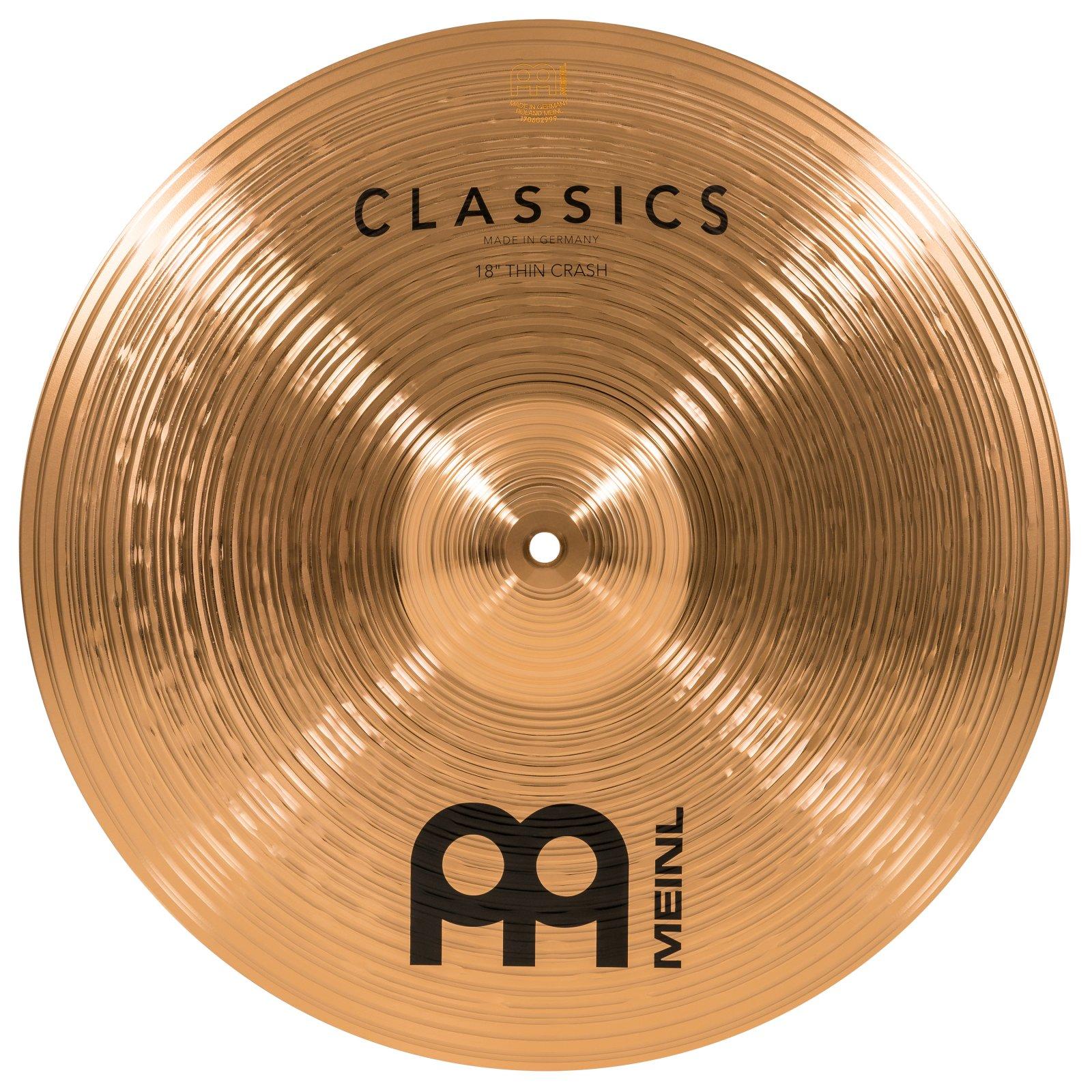 Meinl 18 Classics Thin Crash