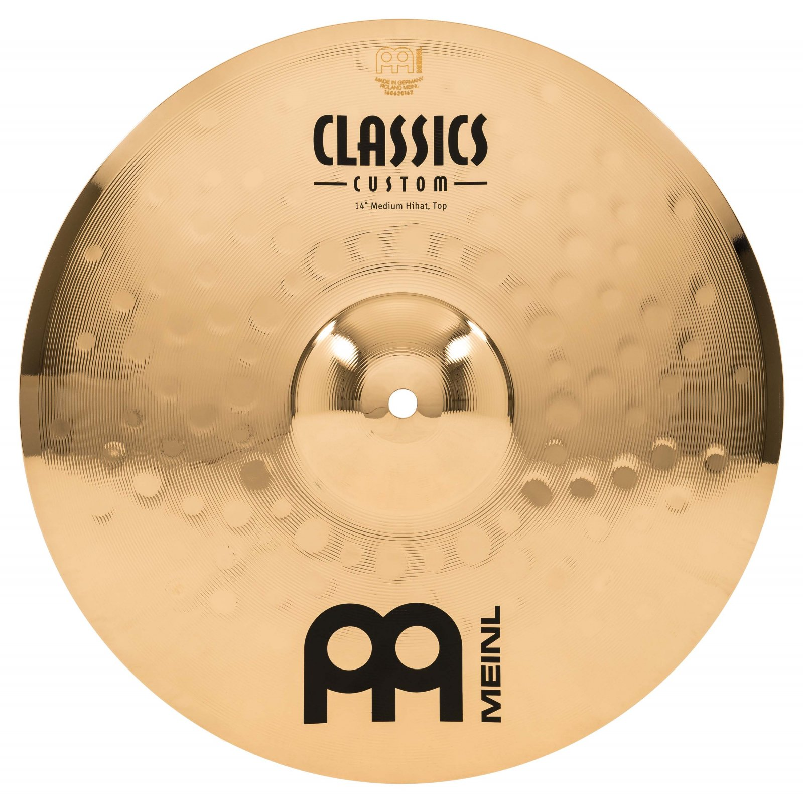 Meinl 14 Classics Custom Medium Hi-Hat (Pair)