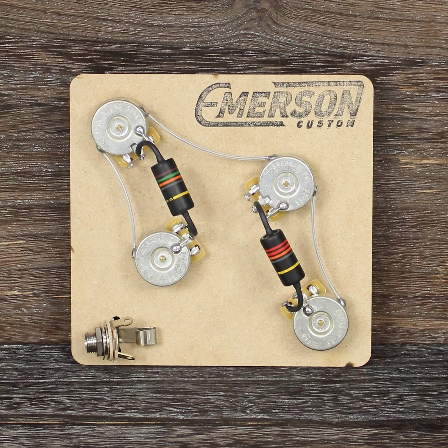 Emerson Custom 4 Knob Prewired Kit For Prs Guitars Guitar Wiring Diagram Two Humbuckers Four Knobs