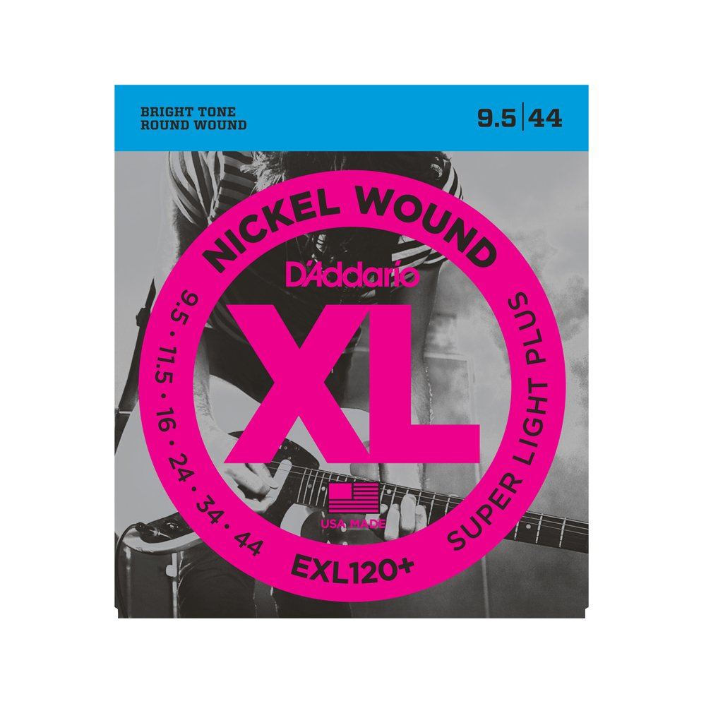 D'Addario EXL120+ Super Light Plus Electric 9.5-44