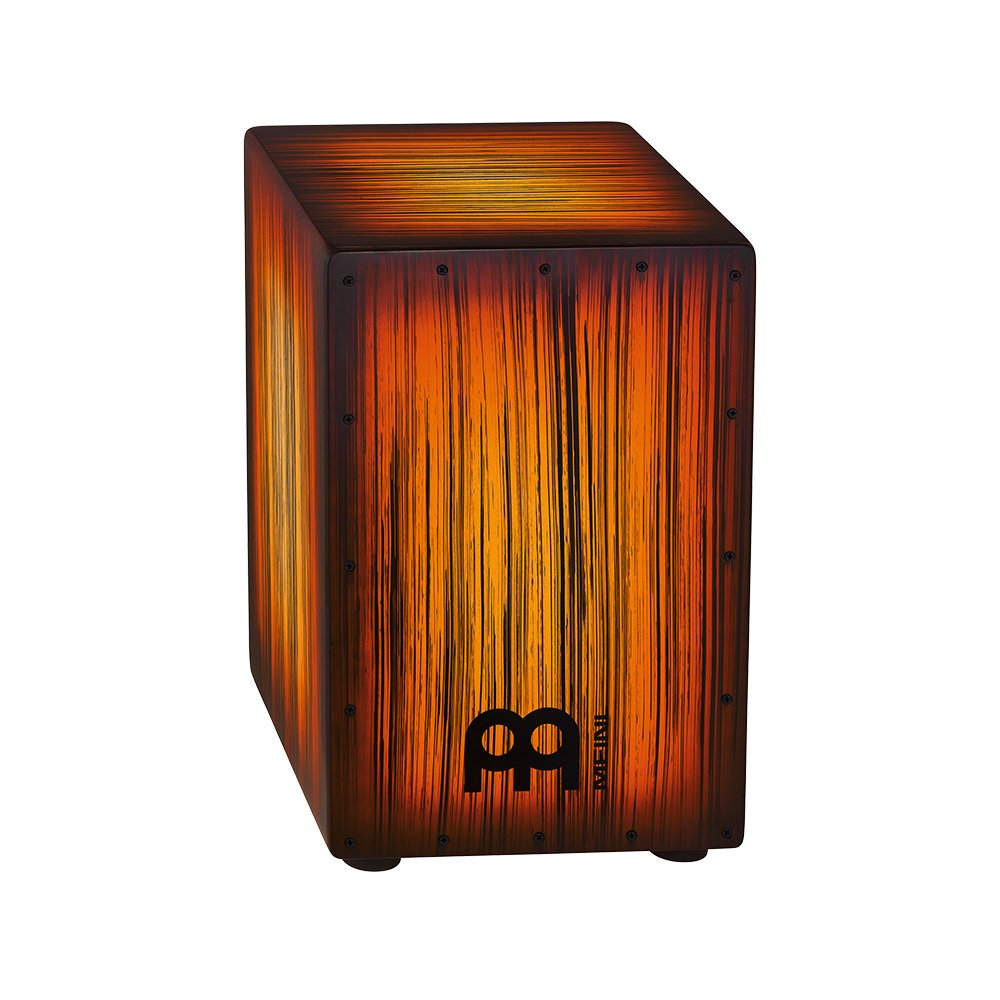 Meinl Headliner Designer Series String Cajon (Rojo Tiger Striped)