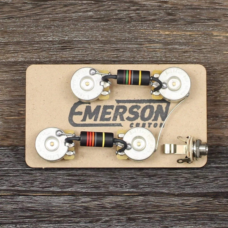 Emerson Custom Les Paul Prewired Kit
