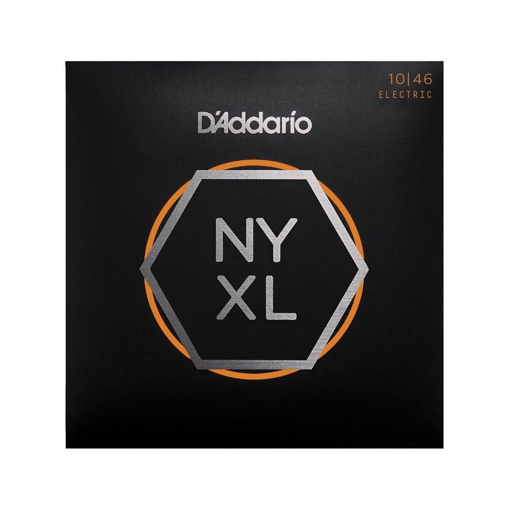 D'Addario NYXL Regular Light Electric 10-46 3-Pack