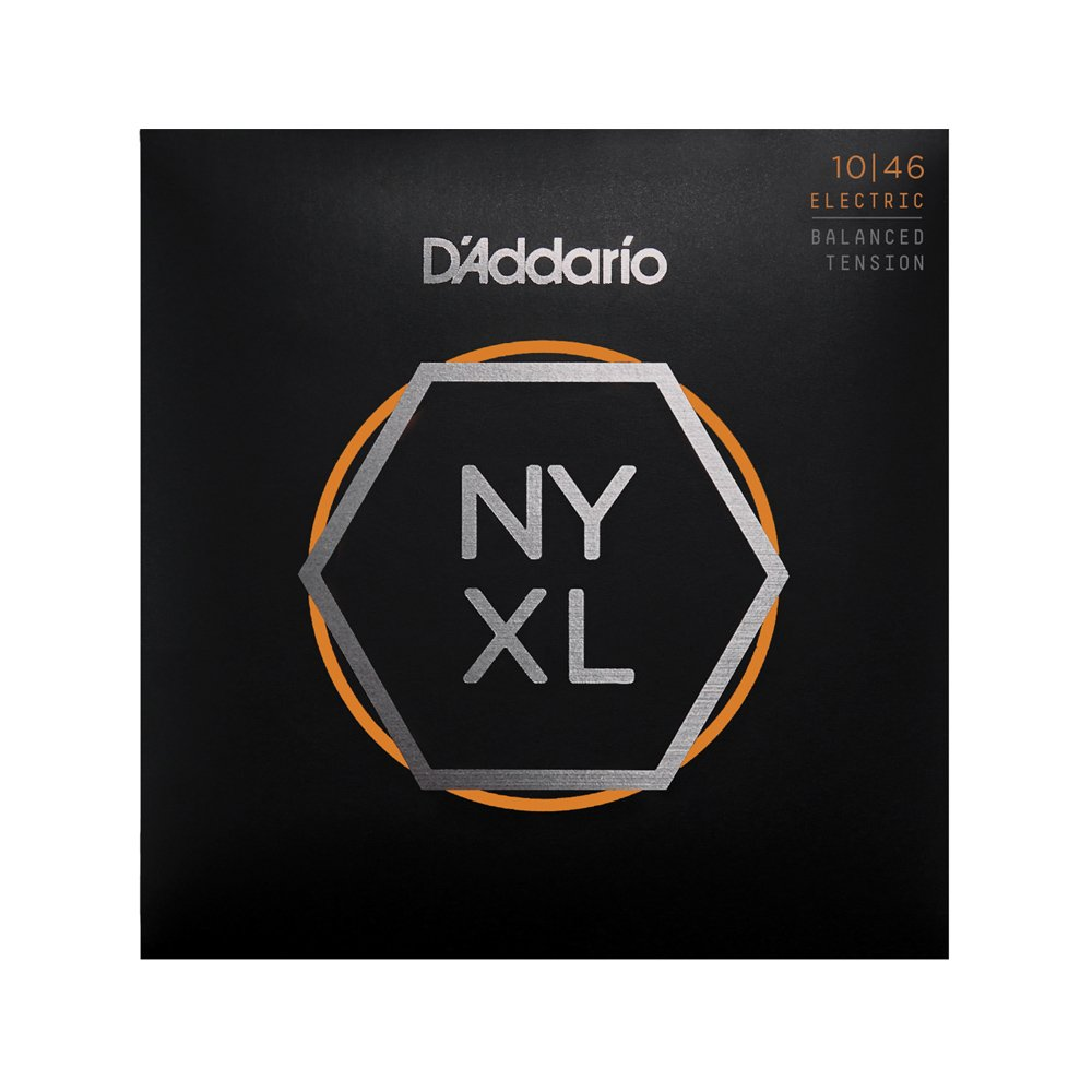 D'Addario NYXL Regular Light Electric 10-46 Balanced Tension