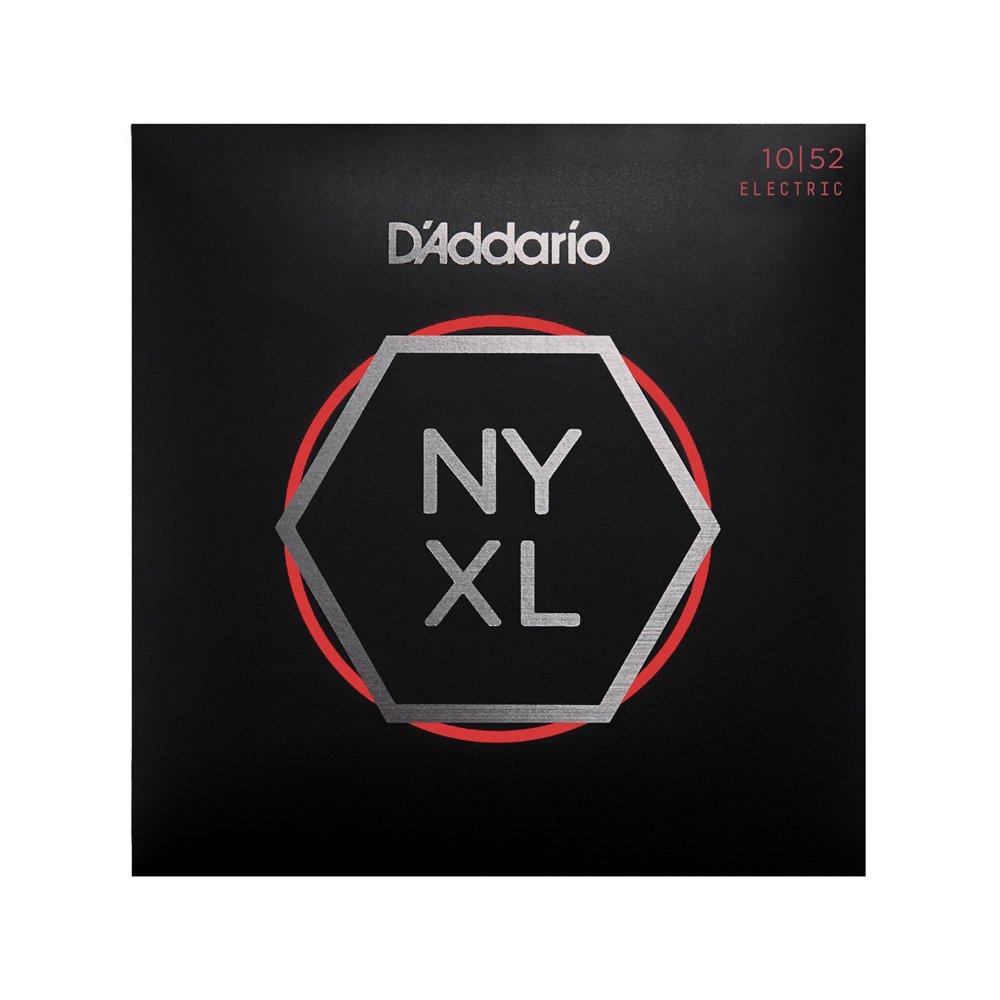 D'Addario NYXL Light Top/Heavy Bottom Electric 10-52