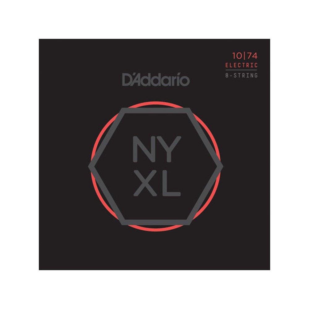 D'Addario NYXL Light Top/Heavy Bottom Electric 8-String 10-74