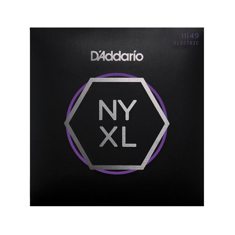 D'Addario NYXL Medium Electric 11-49 3-Pack