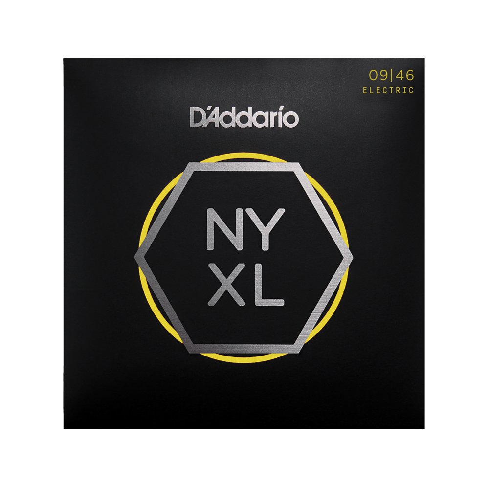 D'Addario NYXL Light Top/Regular Bottom Electric 9-46