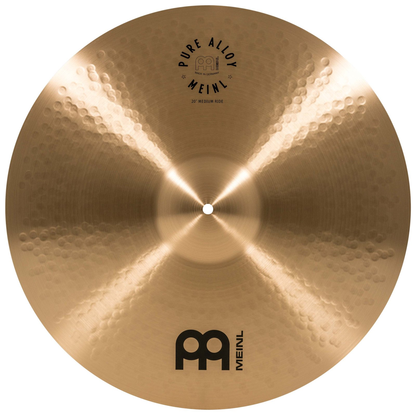 Meinl 20 Pure Alloy Traditional Medium Ride