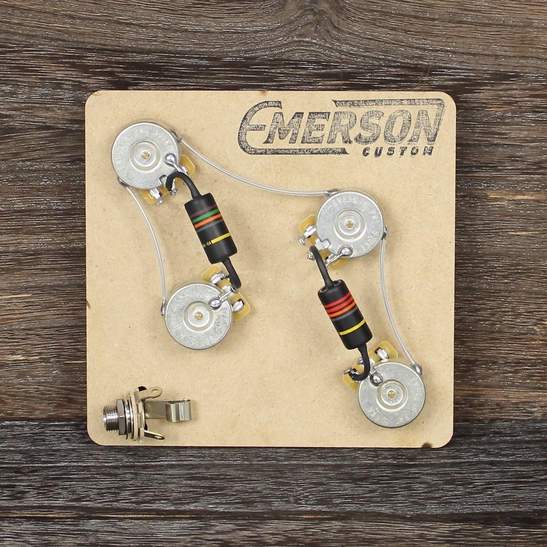 Emerson Custom 4-Knob Prewired Kit for PRS Guitars