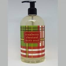 Greenwich Bay Bottled Soaps And Lotions-Cranberry Chestnut