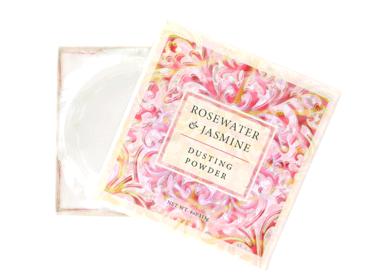 Greenwich Bay Rosewater & Jasmine Dusting Powder