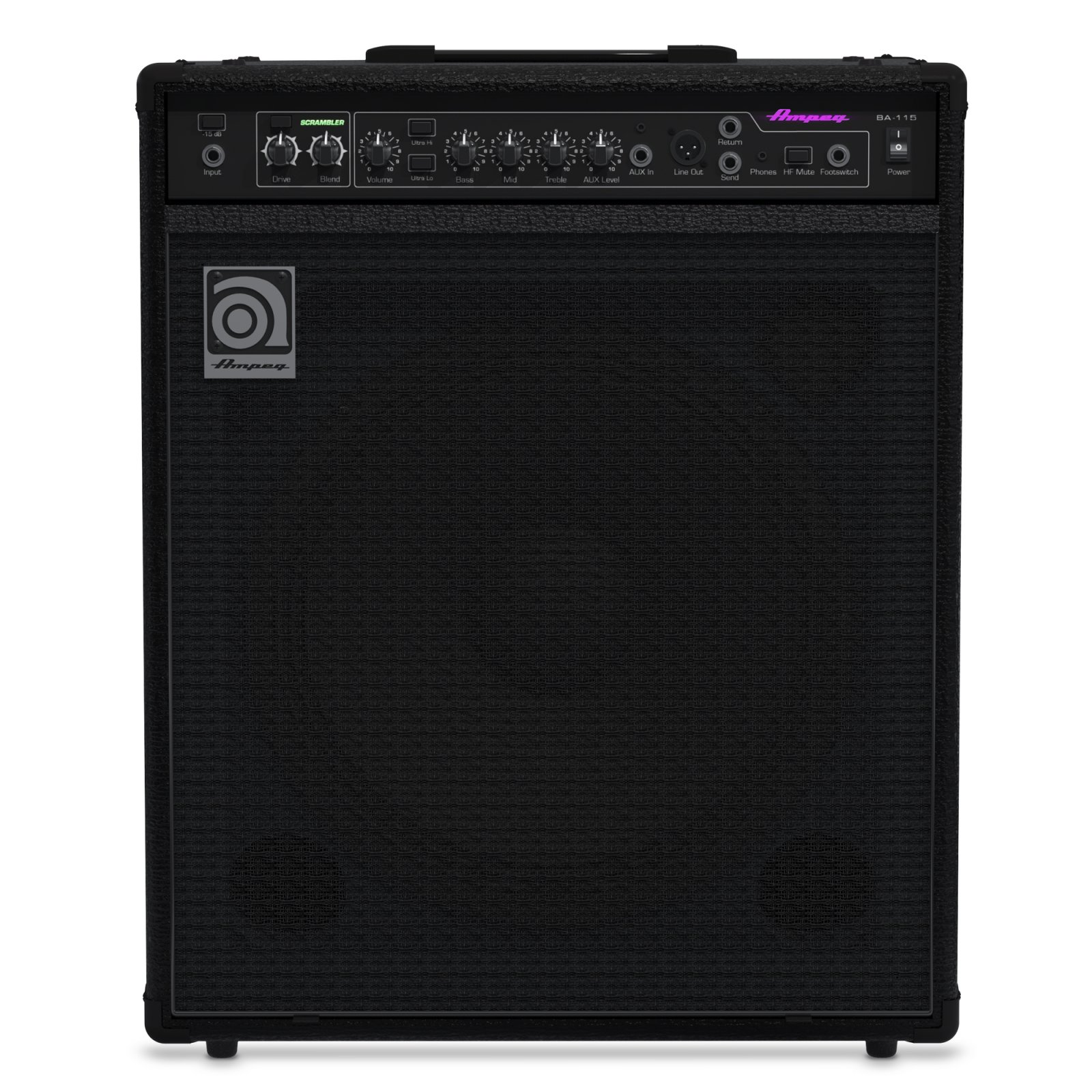 Ampeg BA-115v2 1x15 150-Watt Bass Combo Amplifier