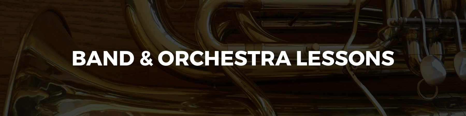 Band and Orchestra Lessons