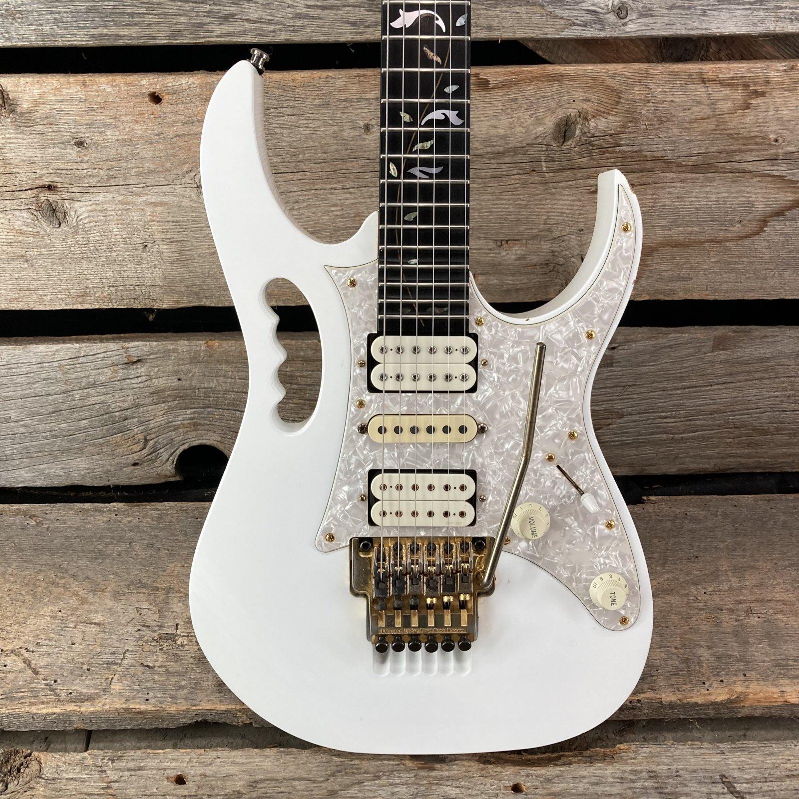 1999 Ibanez JEM7V-WH Electric Guitar