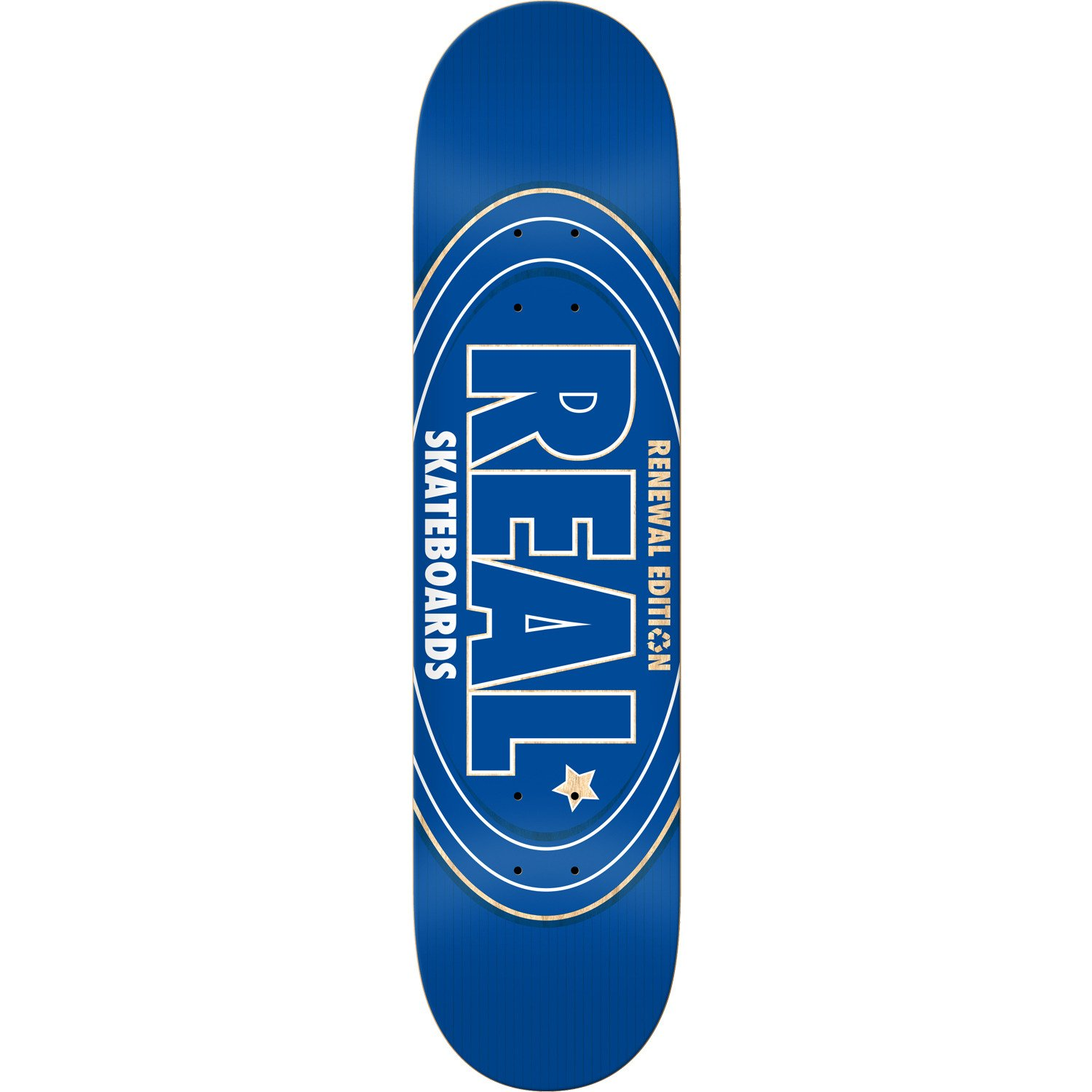 Real Renewal Oval Deck Blue 7.75