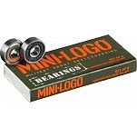 Mini Logo Bearings 8mm 8pk