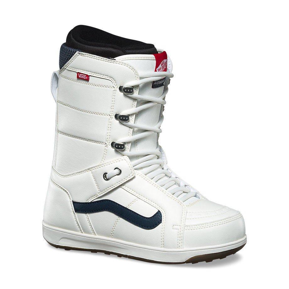 Vans - Hi-Standard | 2018 - Mens Snowboard Boots | Retro White