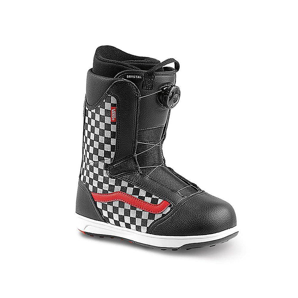 Vans - Brystal | 2018 - KIDS Snowboard Boots | Black / Checker