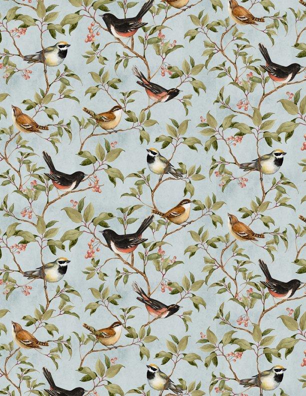 Forest Study Birds Blue 3023 39664 497