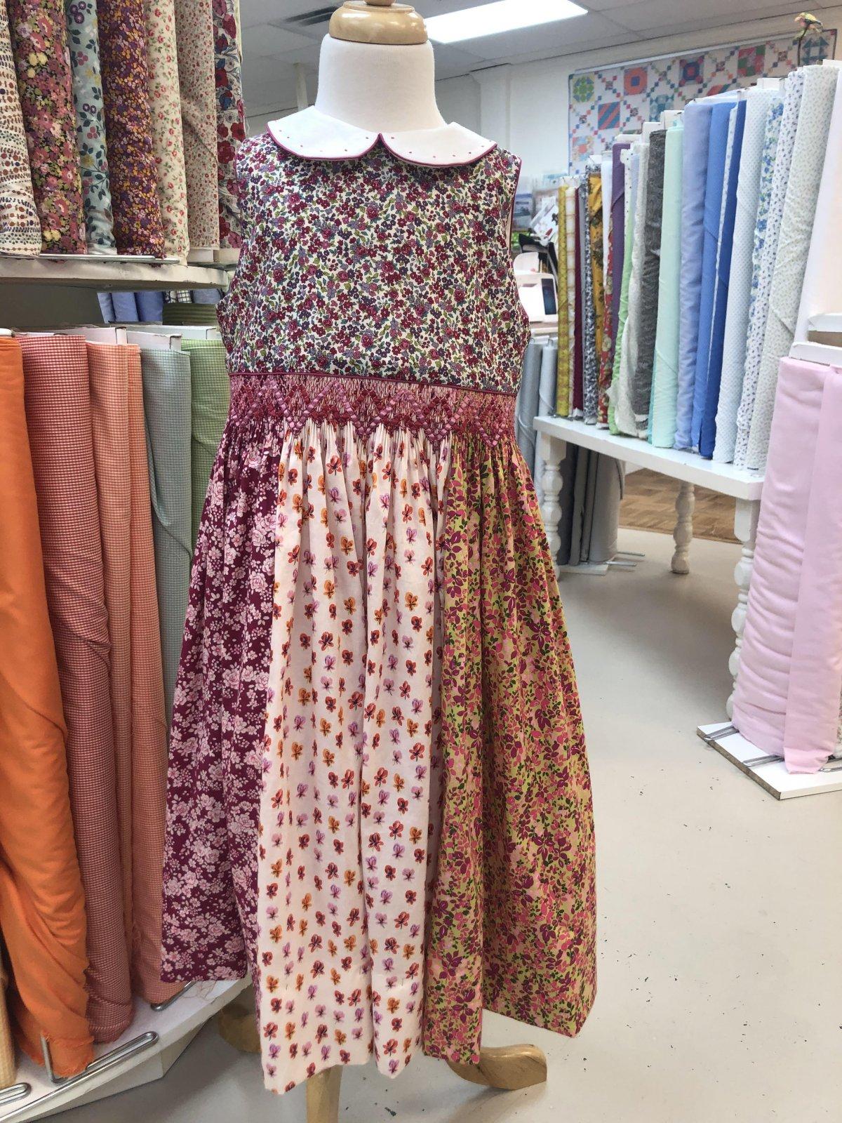 Floral Lawn Potpourri Dress Kit