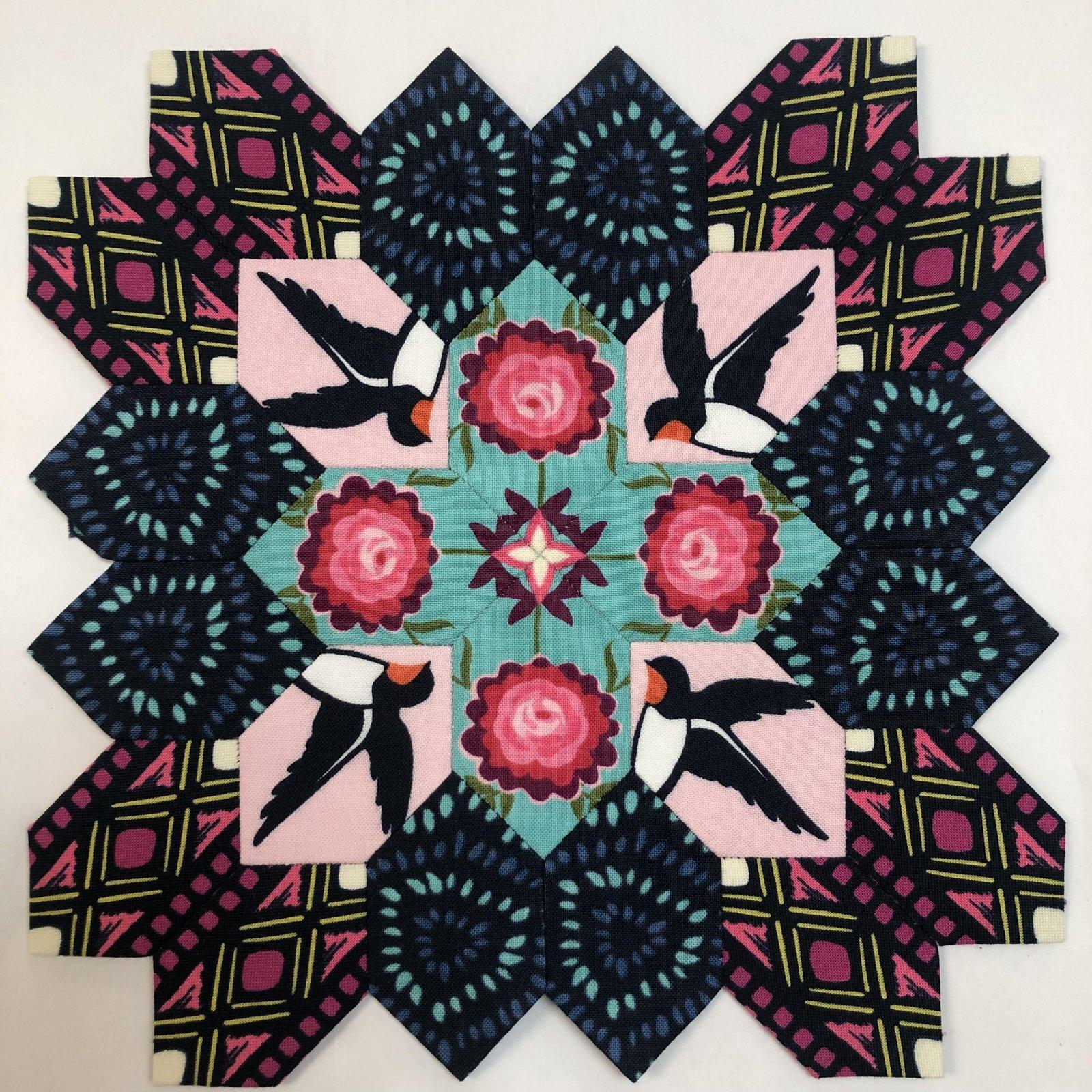 Lucy Boston Quilt Block Kit 16