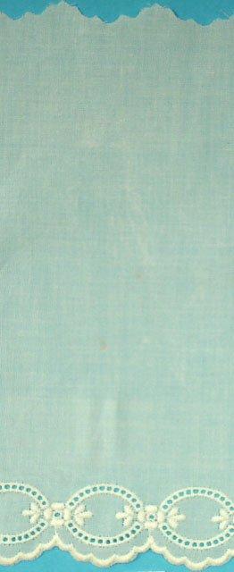 Swiss Embroidered Edging 6.25 Inch Ecru 100024-14