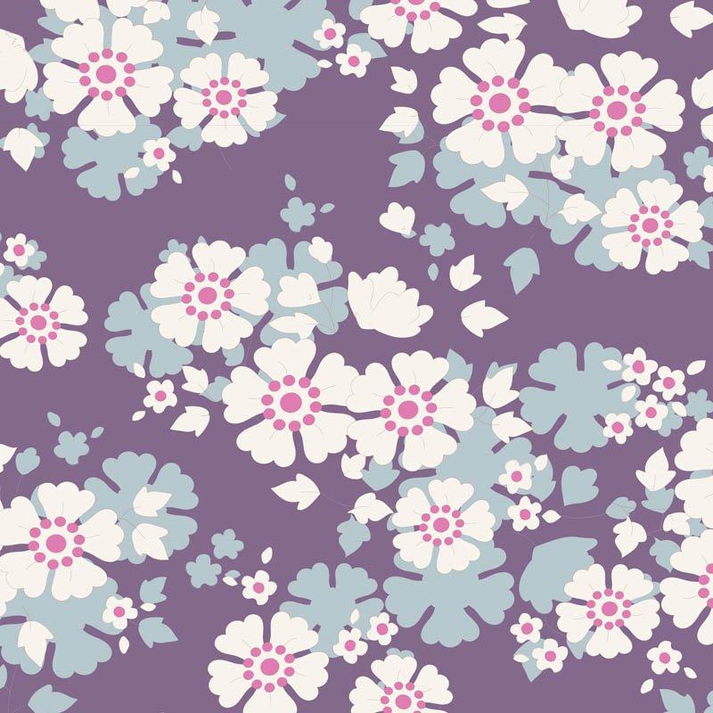 Tilda Woodland Aster Violet 100286