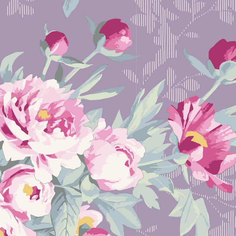 Tilda Woodland Hazel Lavender 100289