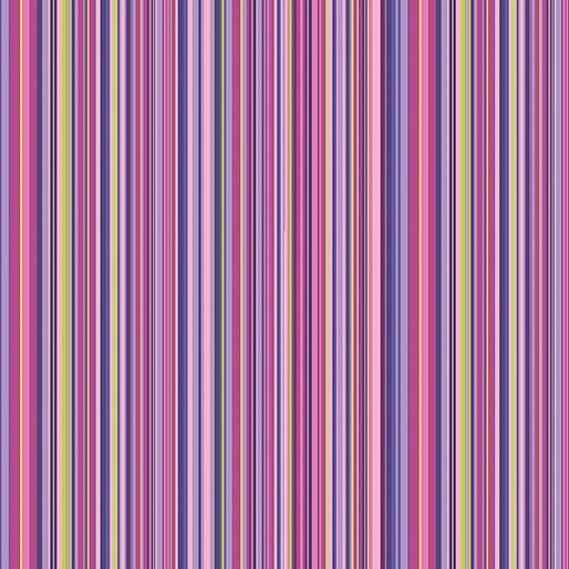 Warp and Weft 2 Mini Stripe Purple 10203Y 60