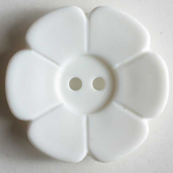 Flower Button 15mm