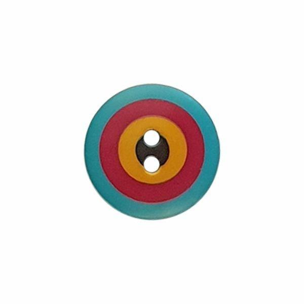 Kaffe Fassett Target 15mm Blue Red Yellow Black 261394