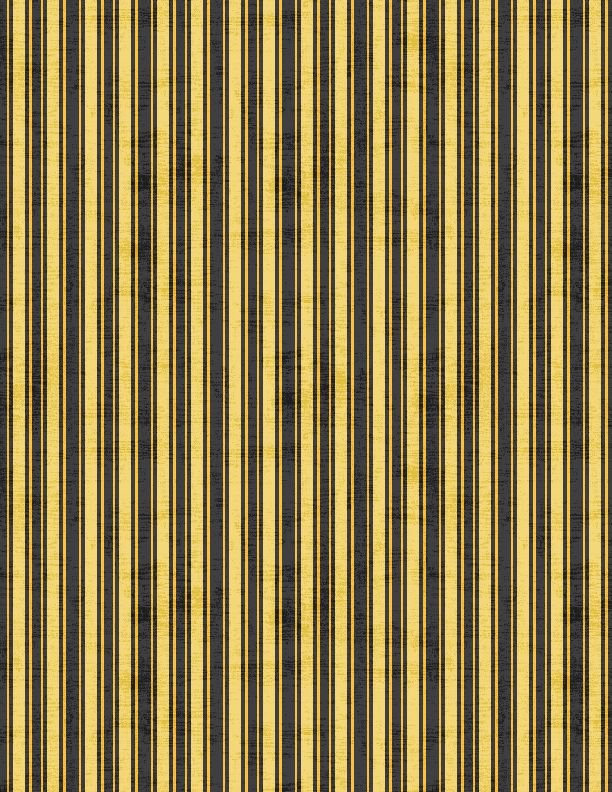 Sundance Meadow Black and Yellow Stripe 33853 958