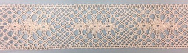 1 5/8 Insertion - ivory 1676