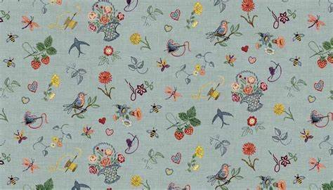 Haberdashery Scattered Embroidery TP1704 1