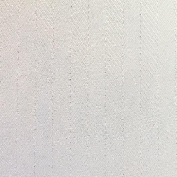 White Herringbone Twill 1948