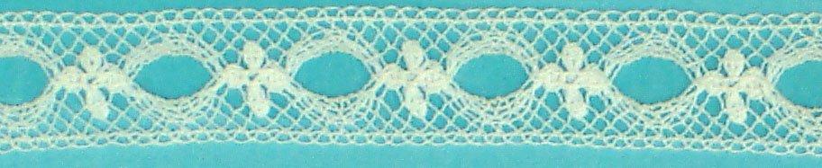 1/4 Lace beading white 200129