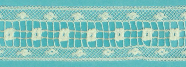 5/8 lace insertion - white 200582