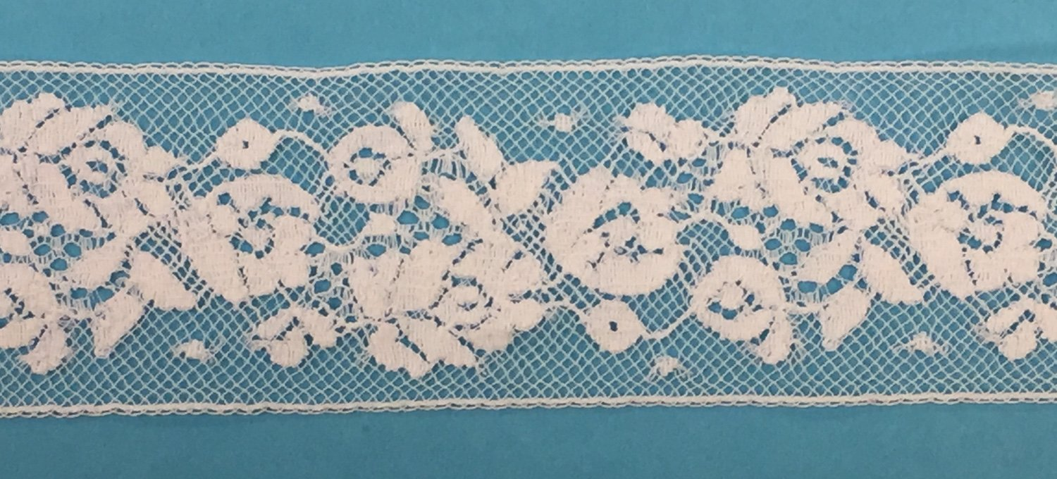 1 3/8 lace insertion - white 11/2035