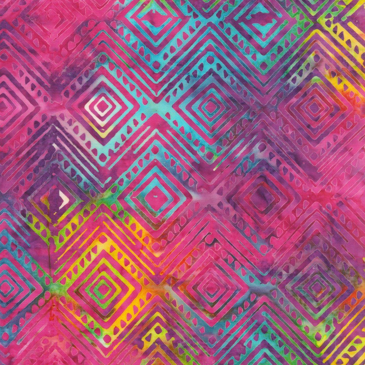 Anthology Batik Light Iris Diamond Multi 2047Q-X