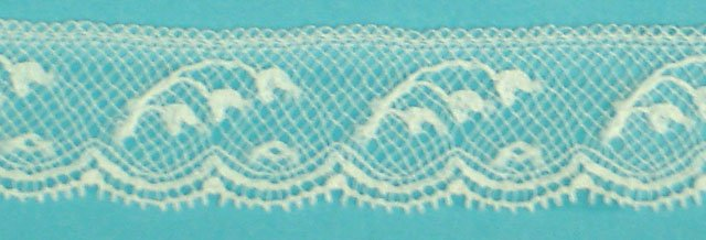 5/8 lace edging - white 208636