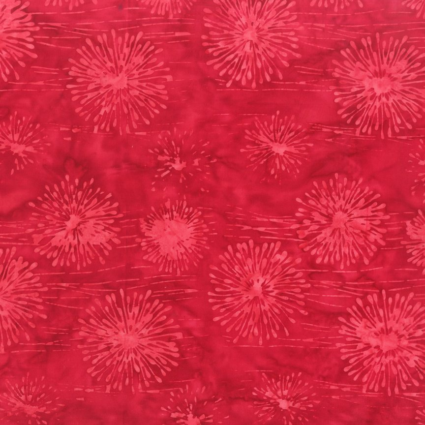 Anthology Batik Summer Days Red 2140QX