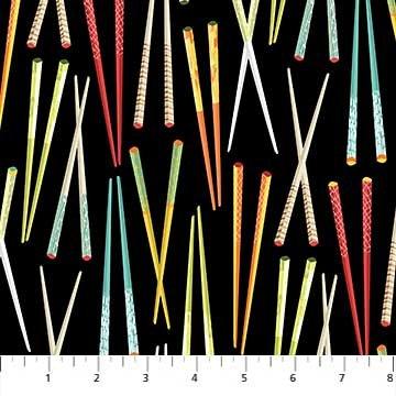 Sushi Black Chopsticks 22364 99
